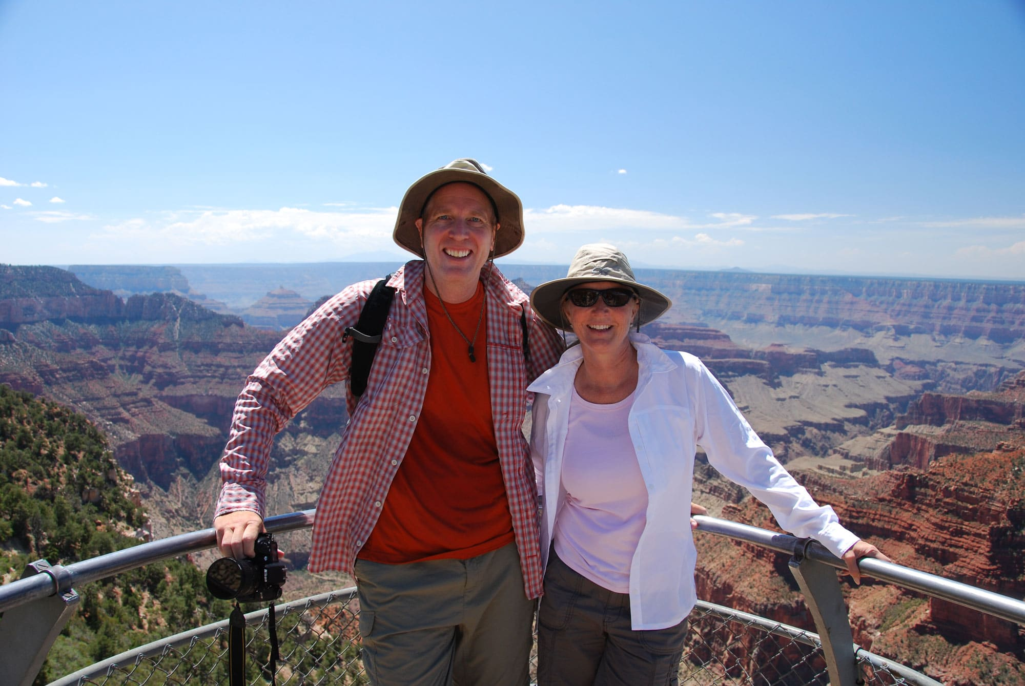 August 2012 – Honeymoon at the North Rim of Grand Canyon National Park